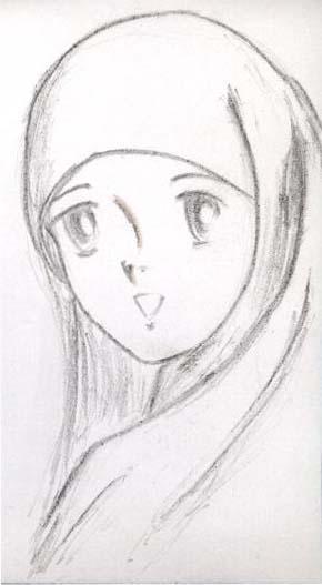 Shalihah….gimana sih cirinya?? by AA Gym » kartun jilbab-fatnan